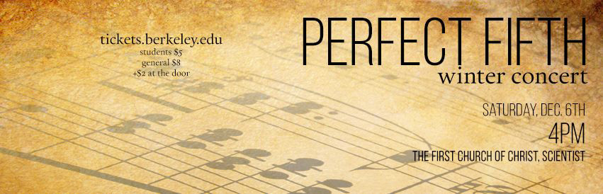Perfect Fifth's Winter 2014 Concert
